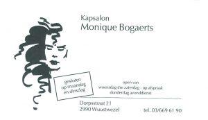 Kapsalon Monique Bogaerts