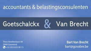 Accountantskantoor Goetschalckx & Van Brecht