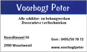 Schilderwerken Voorbogt Peter